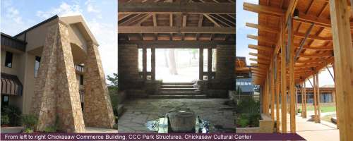FSB Architectural Cues for Chickasaw Nation Visitor Center