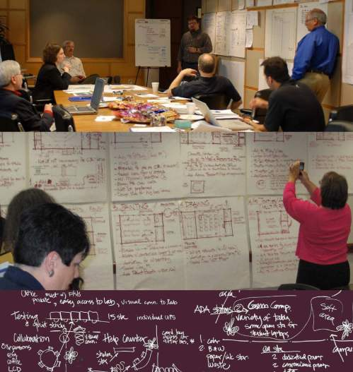 FSB Charrette Images for Chickasaw Nation Visitor Center