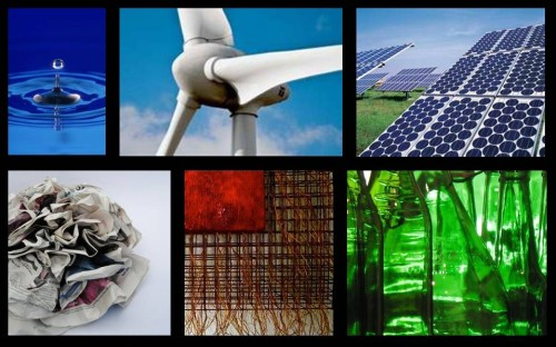FSB Collage of Sustainable Images