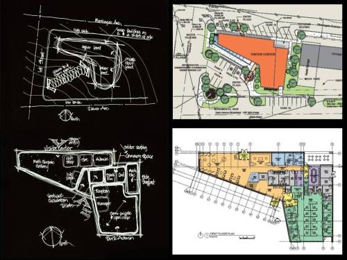 FSB Preliminary Design Graphics for Chickasaw Visitor Center