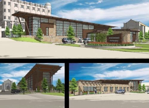 Preliminary Design Exterior Views