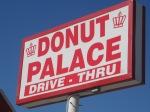 Sulphur Donut Palace near Chickasaw Visitor Center site