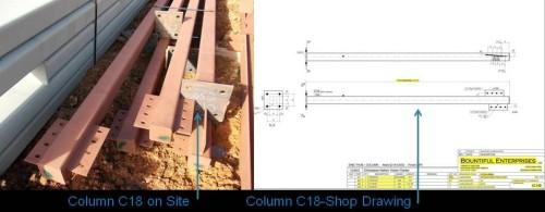 Column C18