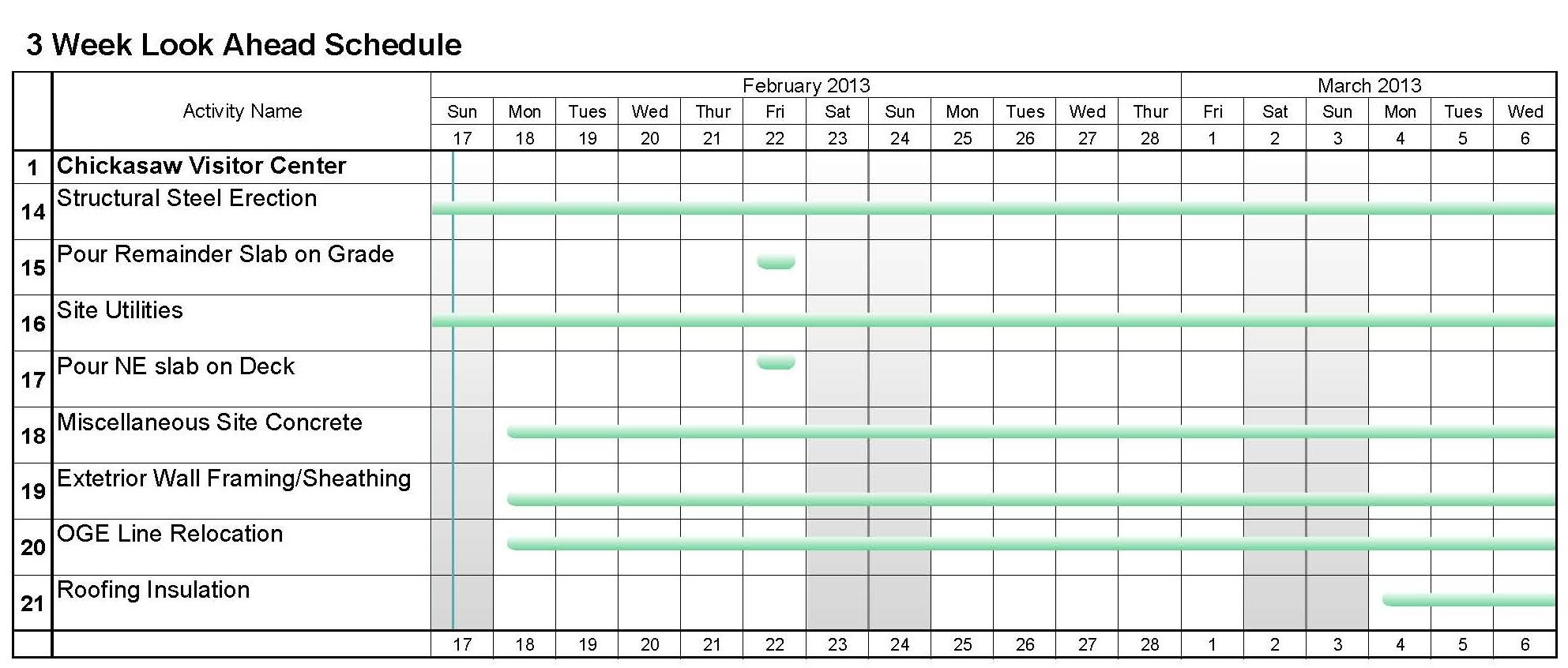calendar template excel 2013