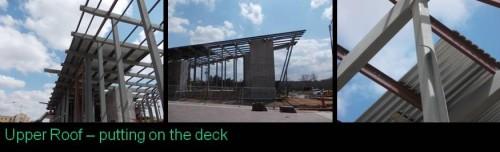 Upper Roof Decking