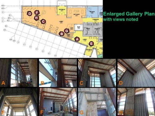 Gallery Plan and Key Photos