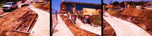 Site Work - Railing