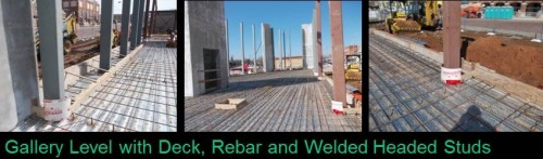 Slab Rebar and Studs