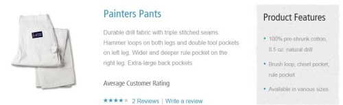 Painter's Pants