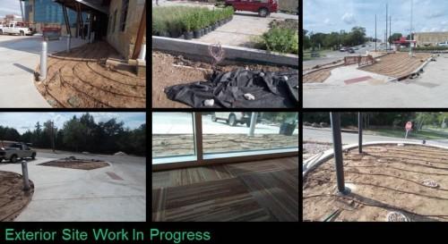 Site Work Progress