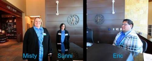 Visitor Center Staff