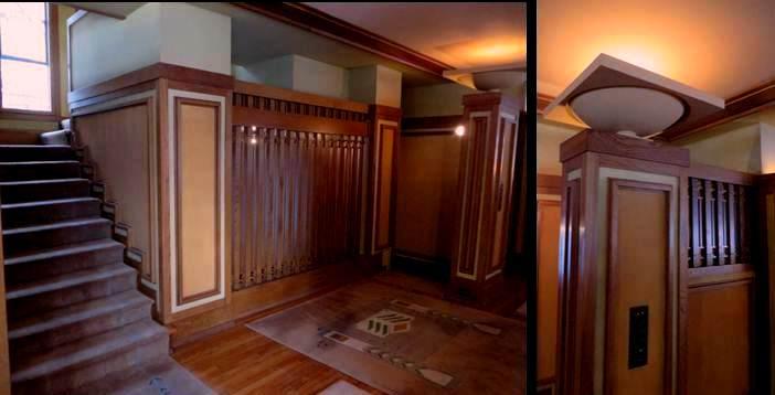 Frank Lloyd Wright. Stair