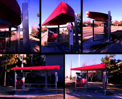 Bus stop-Norman