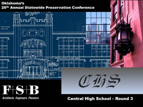 2014 Historic Preservation-FSB Presentation-Cover