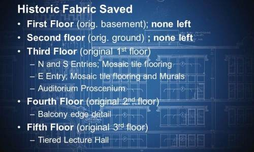 Historic Fabric Saved